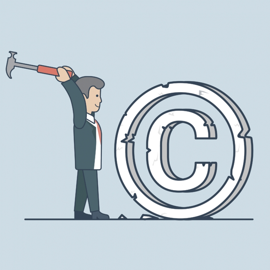 Be Legally Protected - May It Be a Copyright or Trademark